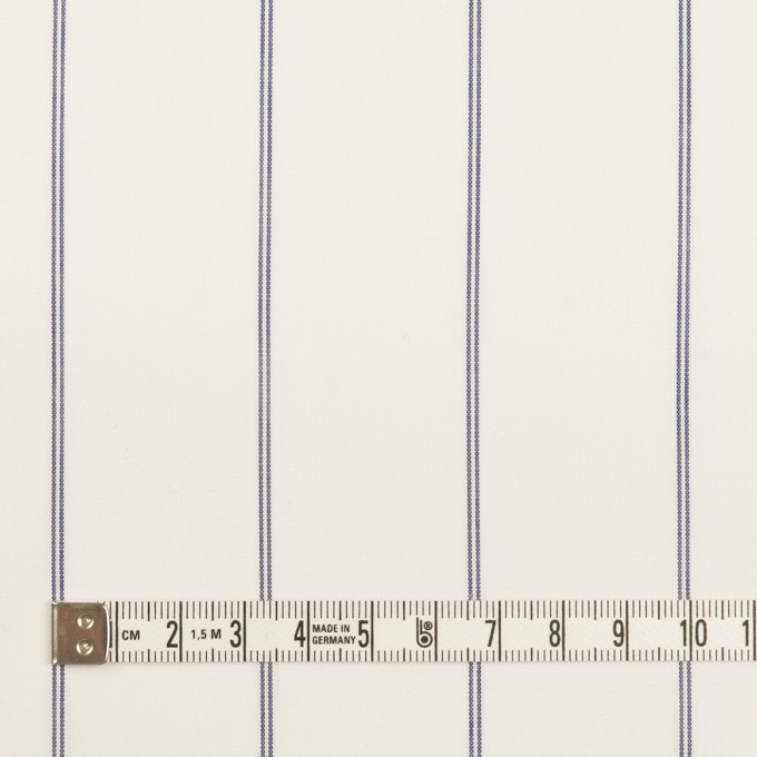 コットン&テンセル×ストライプ(ホワイト)×ローン_全2色 イメージ4