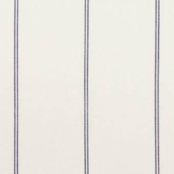 コットン&テンセル×ストライプ(ホワイト)×ローン_全2色