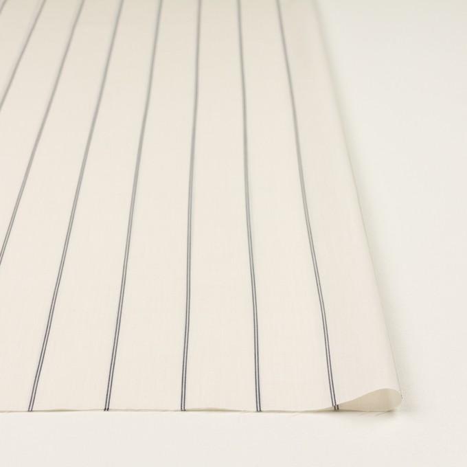 コットン&テンセル×ストライプ(エクリュ)×ローン_全2色 イメージ3