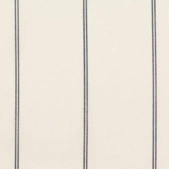 コットン&テンセル×ストライプ(エクリュ)×ローン_全2色