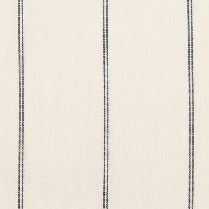 コットン&テンセル×ストライプ(エクリュ)×ローン_全2色 イメージ1