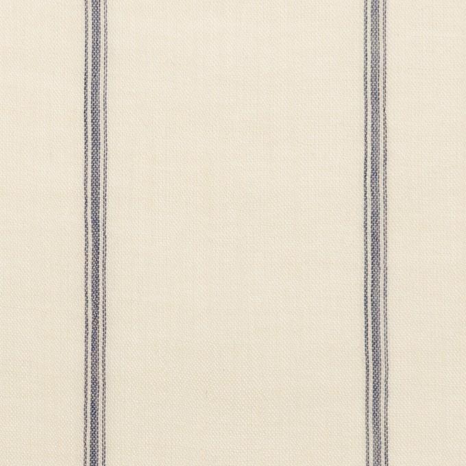 コットン×ストライプ(エクリュ)×ガーゼ_全2色 イメージ1