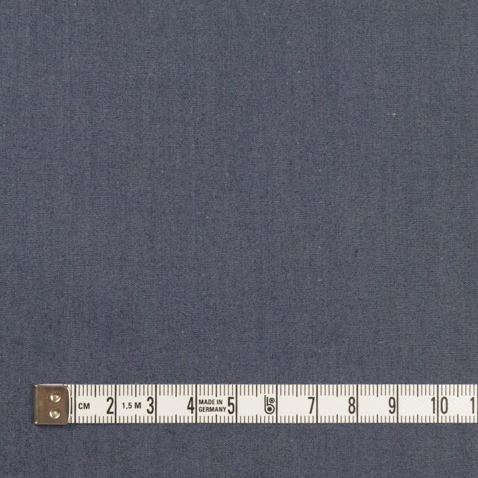 コットン&シルク×無地(アッシュネイビー)×シャンブレー イメージ4