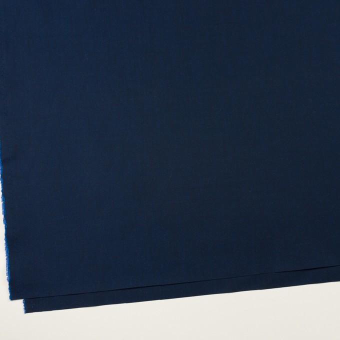 コットン&シルク×無地(ミッドナイトブルー)×シャンブレー イメージ2