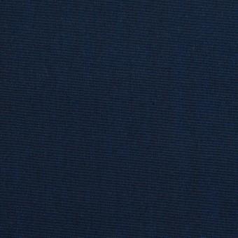コットン&シルク×無地(ミッドナイトブルー)×シャンブレー