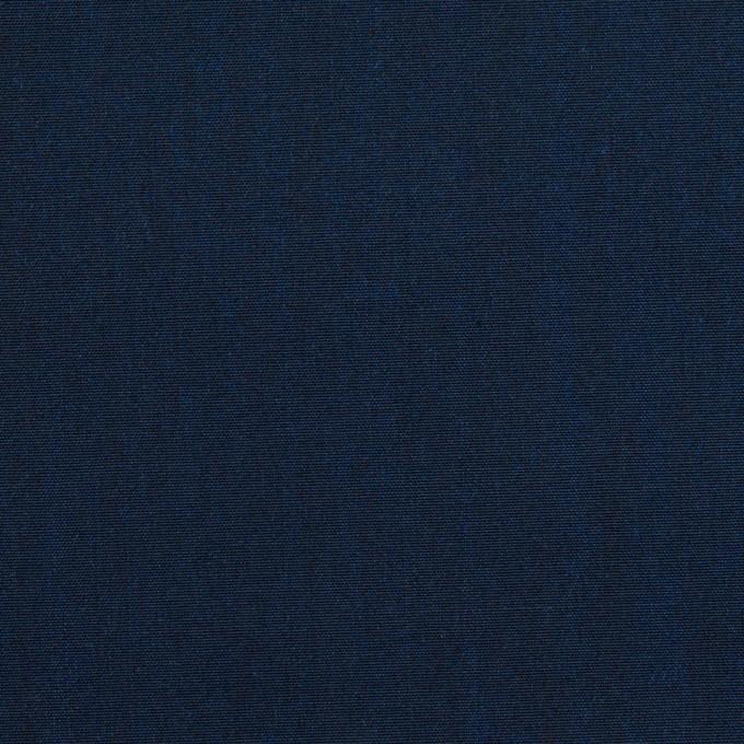 コットン&シルク×無地(ミッドナイトブルー)×シャンブレー イメージ1