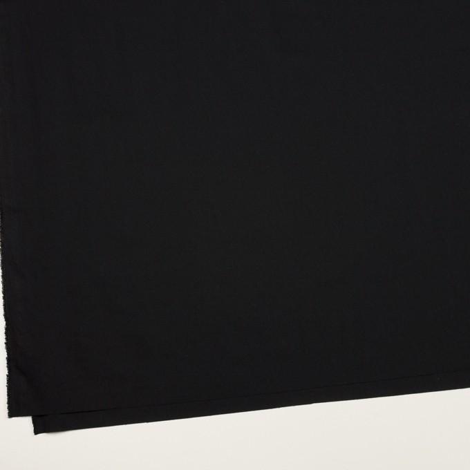 ナイロン&ポリウレタン×無地(ブラック)×ブロードストレッチ イメージ2