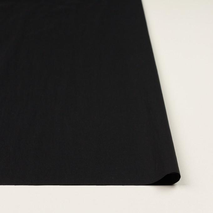 ナイロン&ポリウレタン×無地(ブラック)×ブロードストレッチ イメージ3