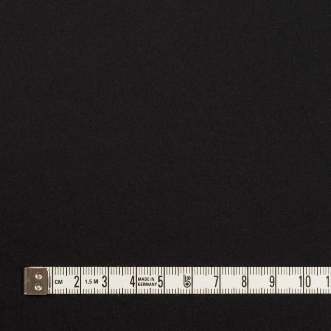 ナイロン&ポリウレタン×無地(ブラック)×ブロードストレッチ イメージ4