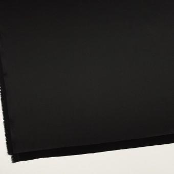 トリアセテート&ポリエステル×無地(ブラック)×サテンストレッチ サムネイル2