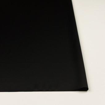トリアセテート&ポリエステル×無地(ブラック)×サテンストレッチ サムネイル3