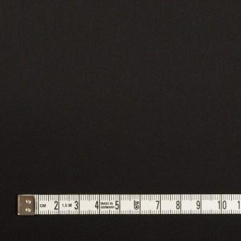 トリアセテート&ポリエステル×無地(ブラック)×サテンストレッチ サムネイル4