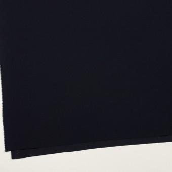 トリアセテート&ポリエステル×無地(ダークネイビー)×バックサテン・ジョーゼット サムネイル2