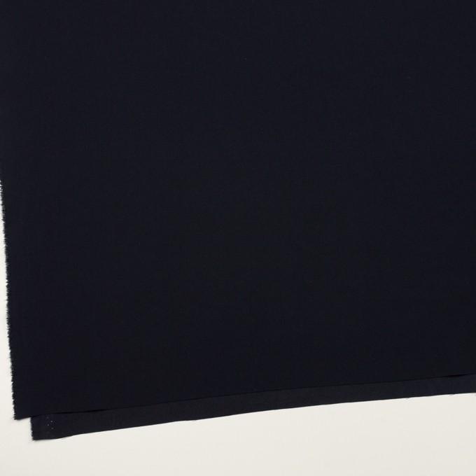 トリアセテート&ポリエステル×無地(ダークネイビー)×バックサテン・ジョーゼット イメージ2