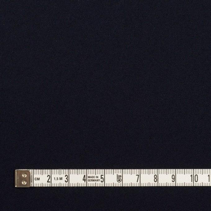 トリアセテート&ポリエステル×無地(ダークネイビー)×バックサテン・ジョーゼット イメージ4