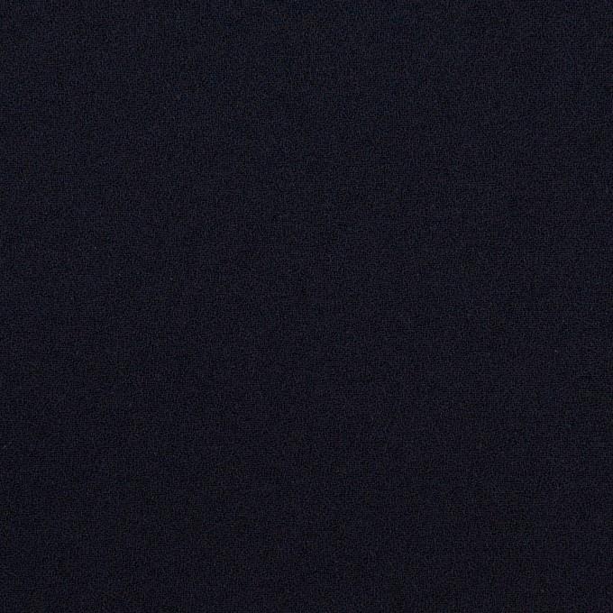 トリアセテート&ポリエステル×無地(ダークネイビー)×バックサテン・ジョーゼット イメージ1