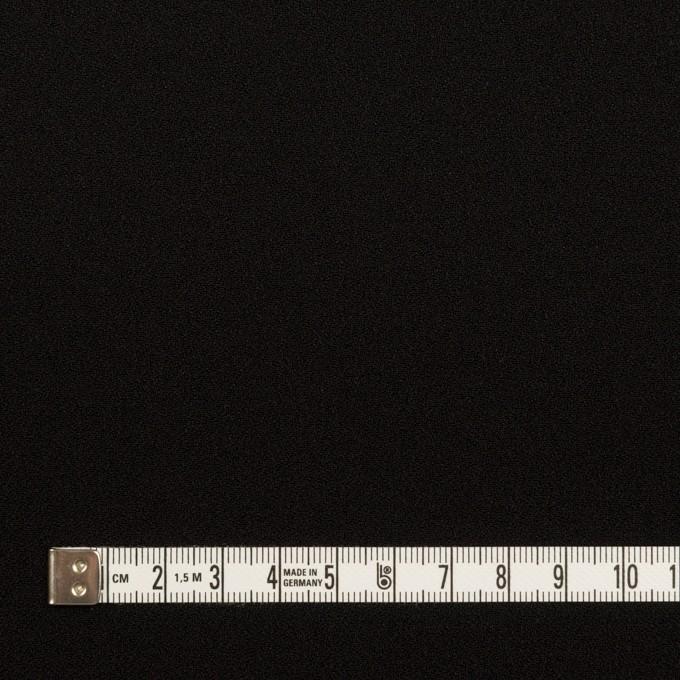 トリアセテート&ポリエステル×無地(ブラック)×バックサテン・ジョーゼット イメージ4