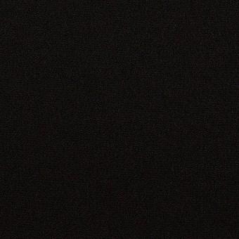 【100cmカット】トリアセテート&ポリエステル×無地(ブラック)×バックサテン・ジョーゼット