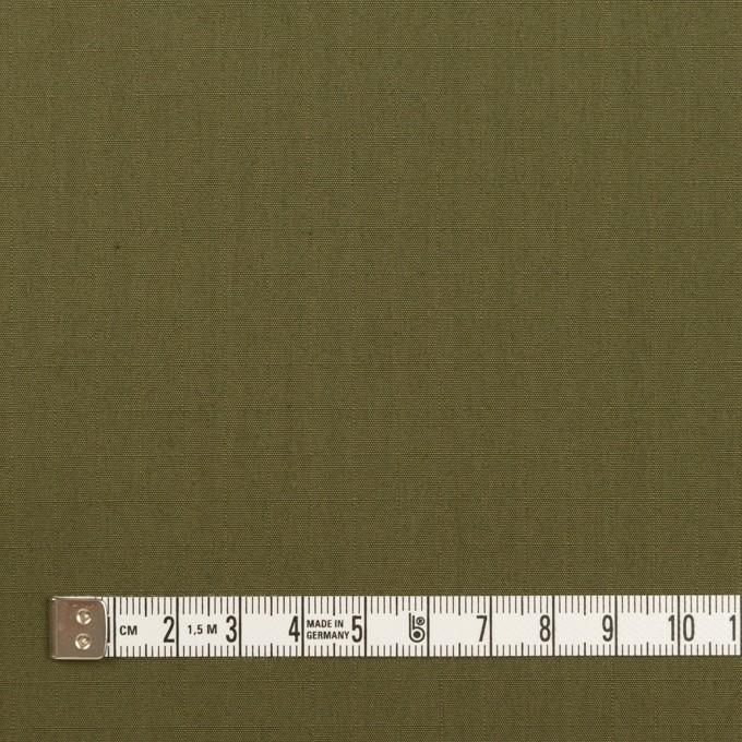 コットン&ナイロン×無地(アッシュカーキグリーン)×リップストップ イメージ4