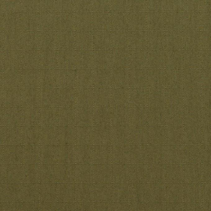 コットン&ナイロン×無地(アッシュカーキグリーン)×リップストップ イメージ1