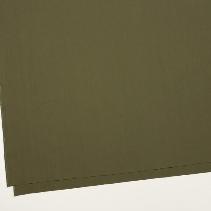 コットン&ナイロン×無地(アッシュカーキグリーン)×タイプライター(高密ローン) イメージ2
