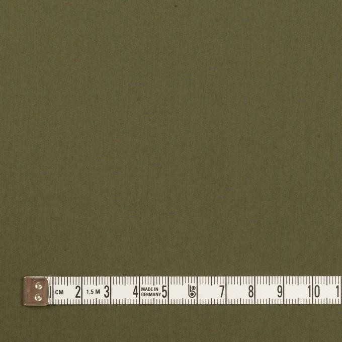 コットン&ナイロン×無地(アッシュカーキグリーン)×タイプライター(高密ローン) イメージ4