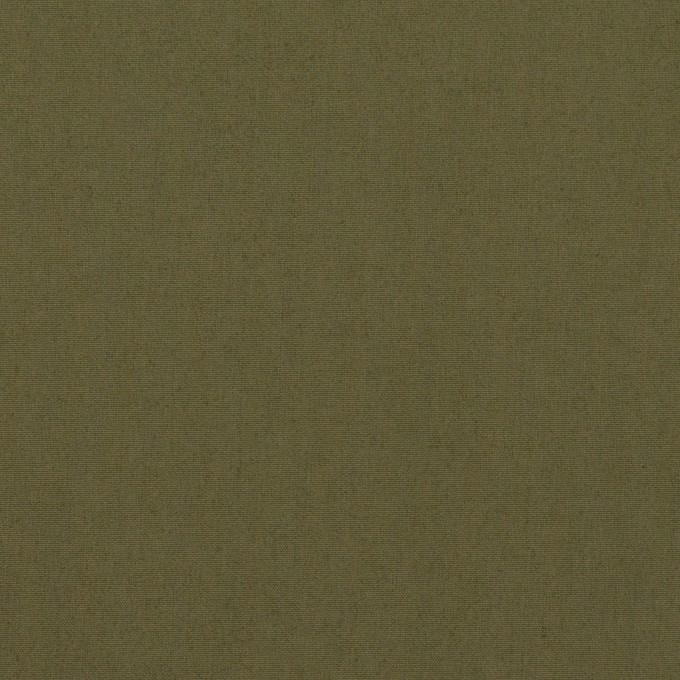 コットン&ナイロン×無地(アッシュカーキグリーン)×タイプライター(高密ローン) イメージ1