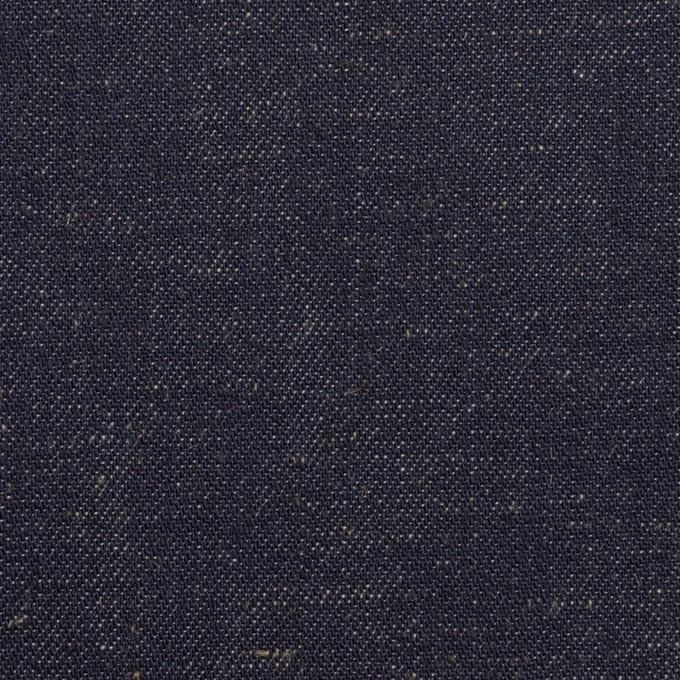 コットン×無地(インディゴ)×デニム(7.5oz) イメージ1