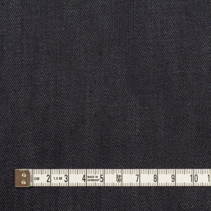 コットン&ポリウレタン×無地(インディゴ)×デニムストレッチ(11oz) イメージ4