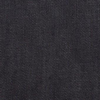 コットン&ポリウレタン×無地(インディゴ)×デニムストレッチ(11oz)