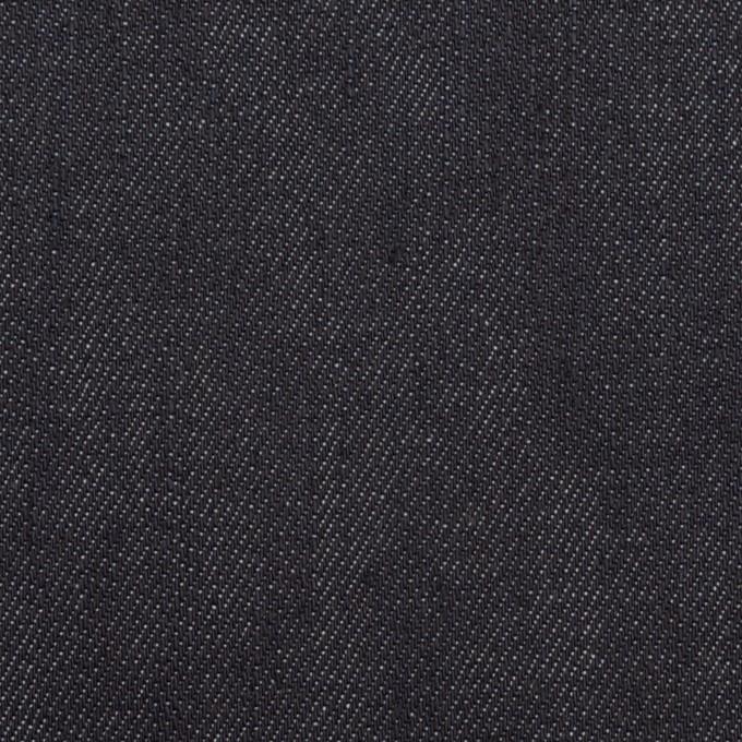 コットン&ポリウレタン×無地(インディゴ)×デニムストレッチ(11oz) イメージ1