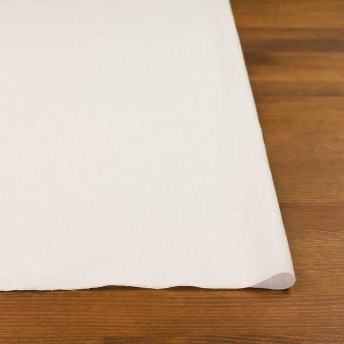 コットン×無地(オフホワイト)×ボイル イメージ3