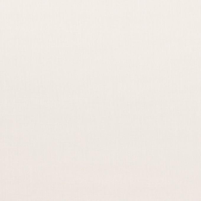 コットン×無地(ミルキーホワイト)×ボイル イメージ1