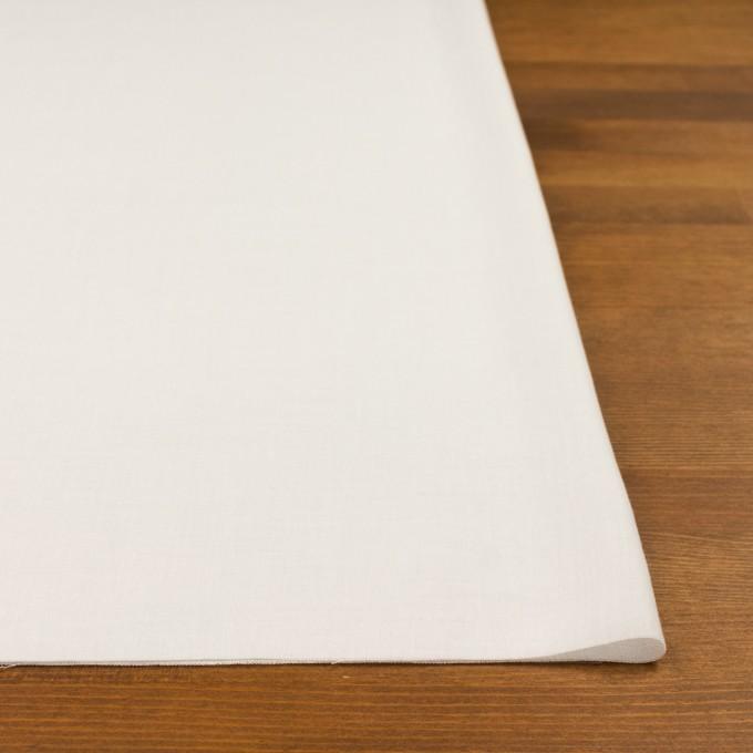 コットン×無地(ミルク)×薄サージ イメージ3