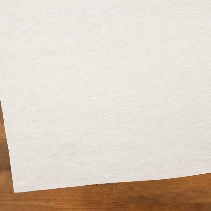 リネン&シルク×無地(ミルク)×シャンタン イメージ2