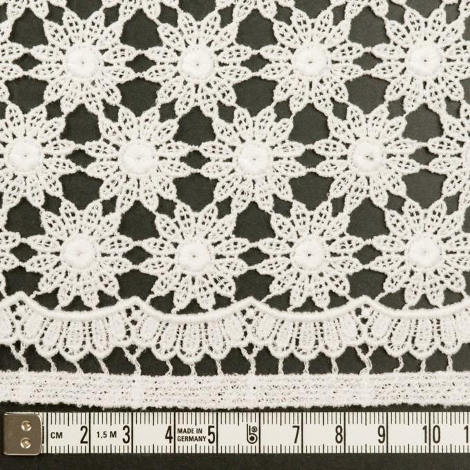 コットン×フラワー(オフホワイト)×ケミカルレース イメージ6
