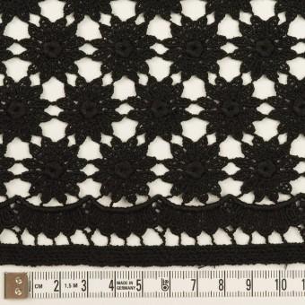 コットン×フラワー(ブラック)×ケミカルレース サムネイル6