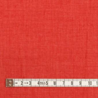 コットン×無地(レッド)×ガーゼワッシャー_全4色 サムネイル4