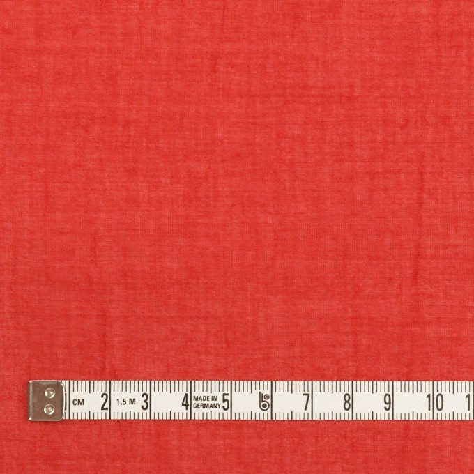 コットン×無地(レッド)×ガーゼワッシャー_全4色 イメージ4