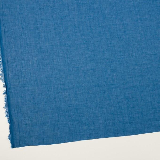 コットン×無地(ブルー)×ガーゼワッシャー_全4色 イメージ2