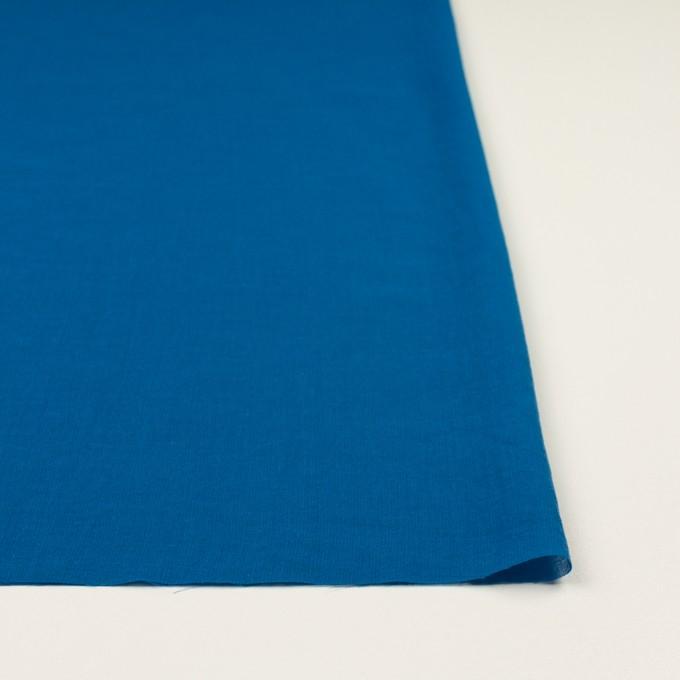 コットン×無地(ブルー)×ガーゼワッシャー_全4色 イメージ3
