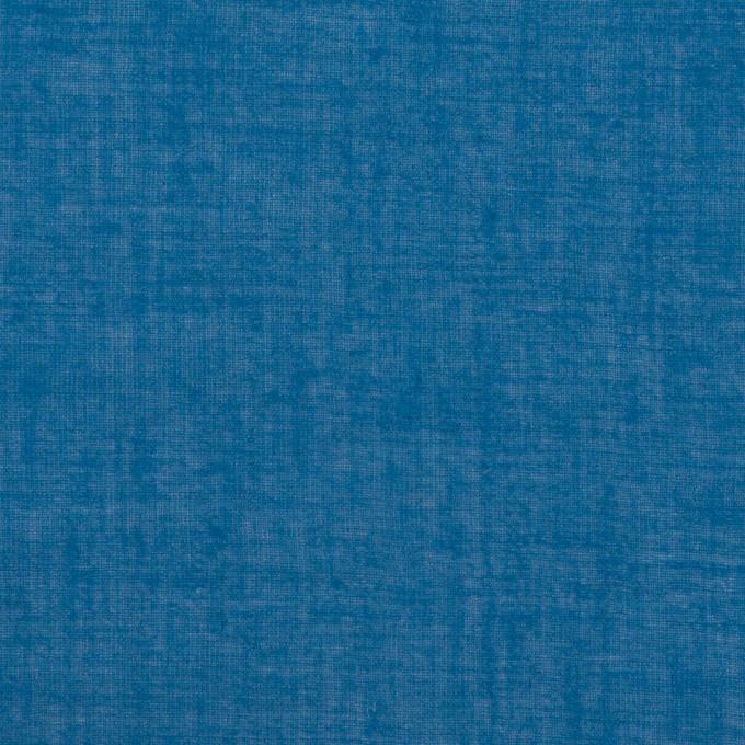 コットン×無地(ブルー)×ガーゼワッシャー_全4色 イメージ1