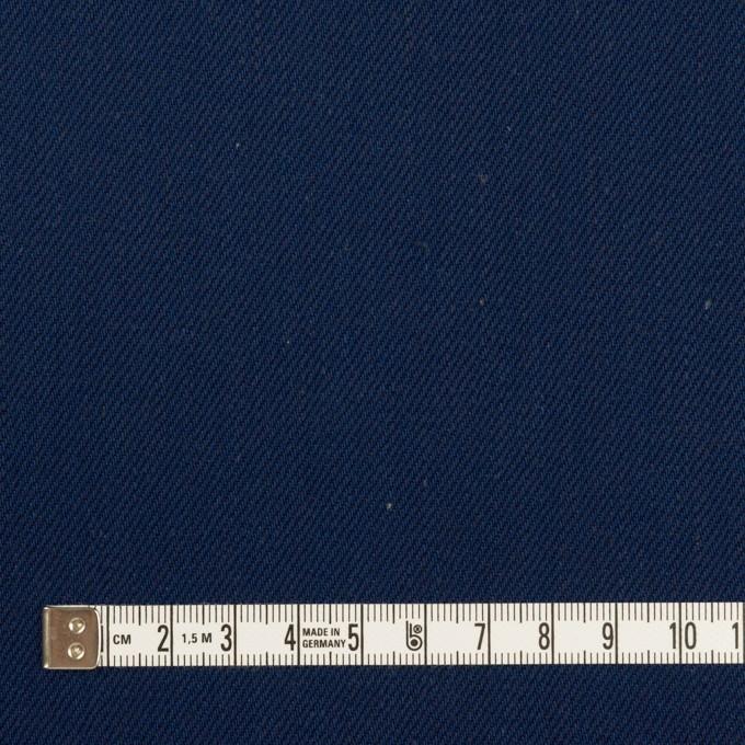コットン×無地(インディゴ)×厚サージ イメージ4