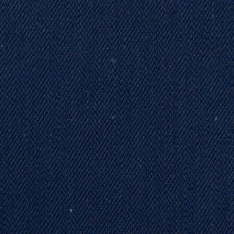 コットン×無地(インディゴ)×厚サージ サムネイル1