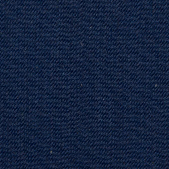 コットン×無地(インディゴ)×厚サージ イメージ1