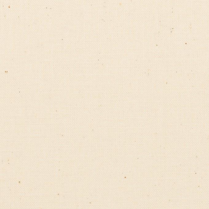 コットン×無地(キナリ)×シーチング イメージ1
