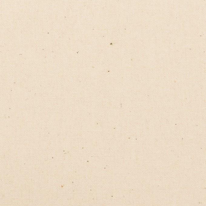 コットン×無地(キナリ)×キャンバス イメージ1