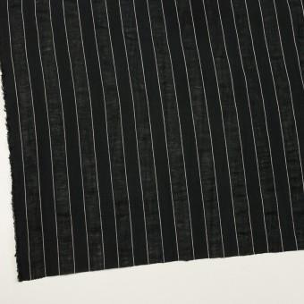 コットン&リネン×ストライプ(ブラック)×ジャガード サムネイル2