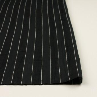 コットン&リネン×ストライプ(ブラック)×ジャガード サムネイル3
