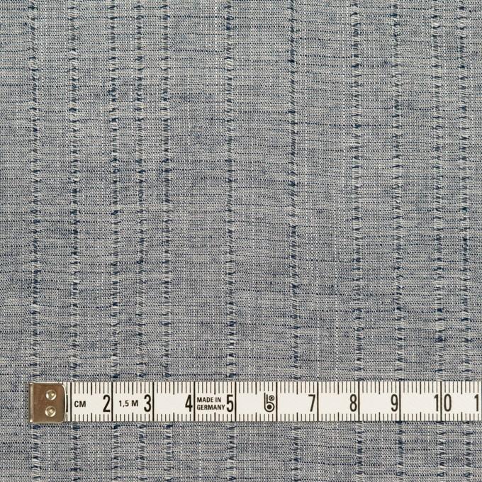 コットン&リネン×ストライプ(アッシュネイビー)×ボイルジャガード イメージ4
